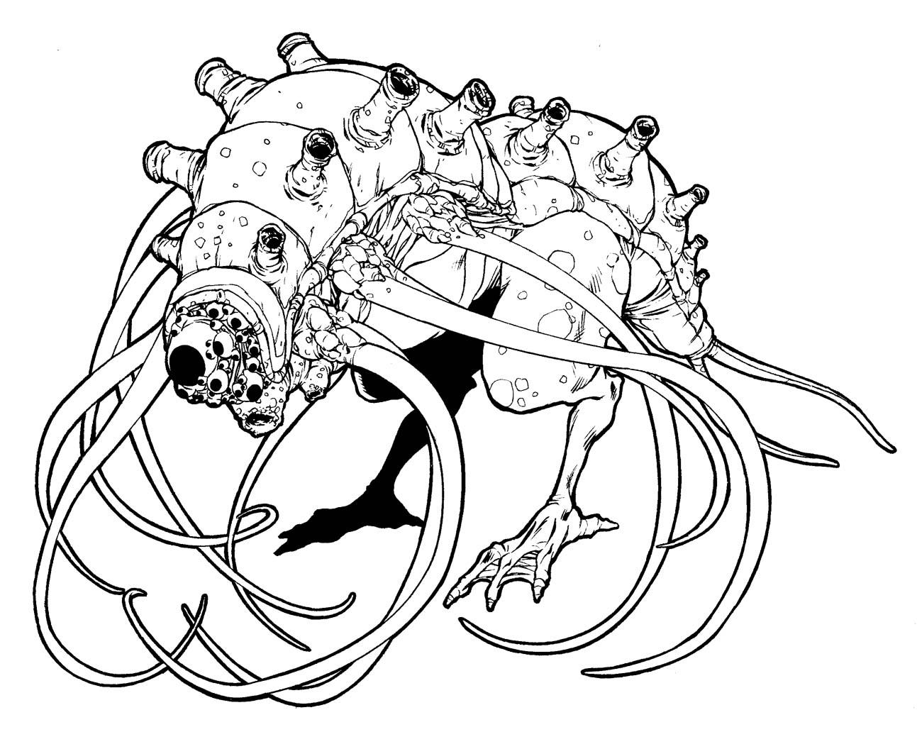 mostri da colorare e stampare disegni imagixs sketch