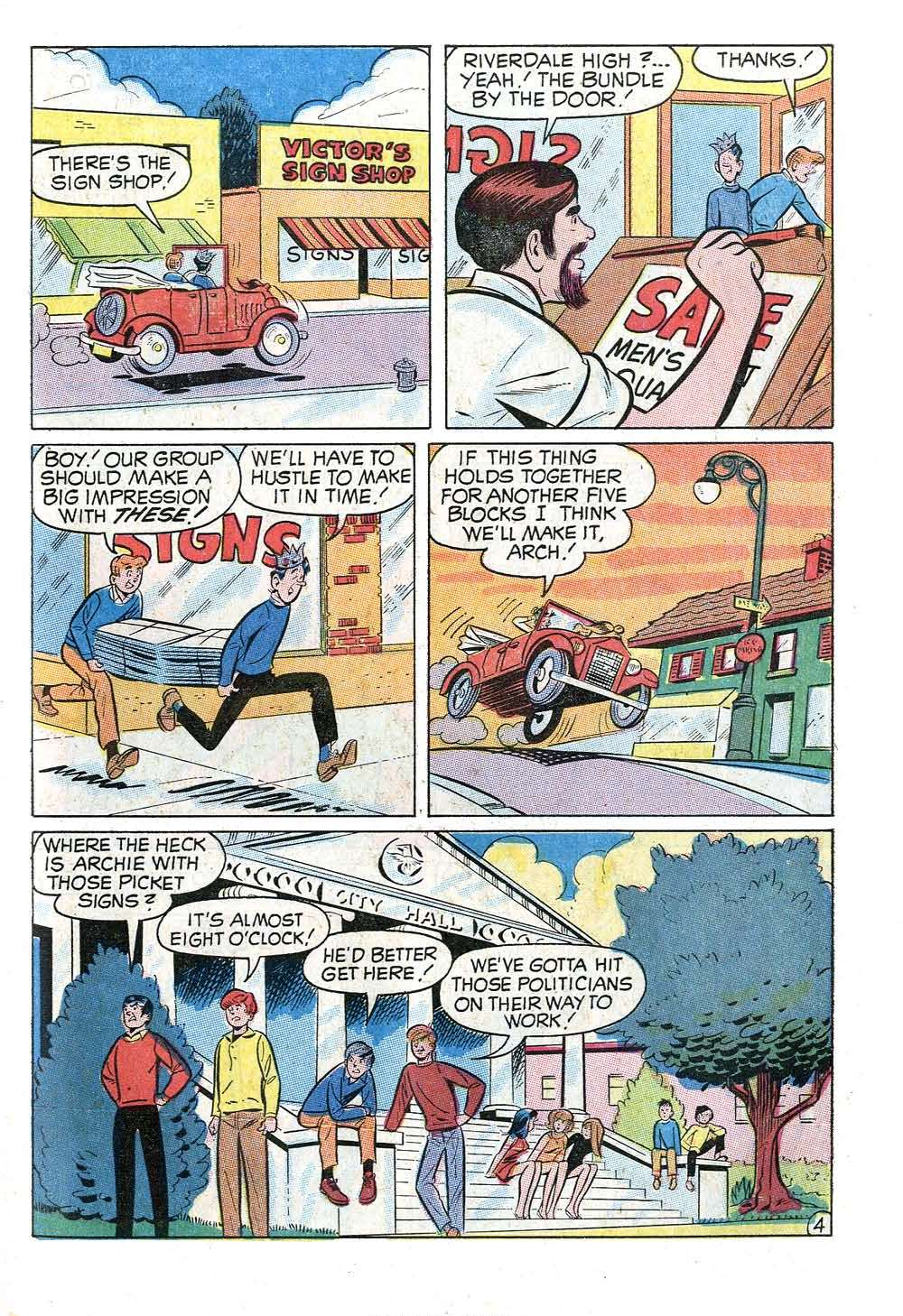 Read online Archie (1960) comic -  Issue #202 - 31