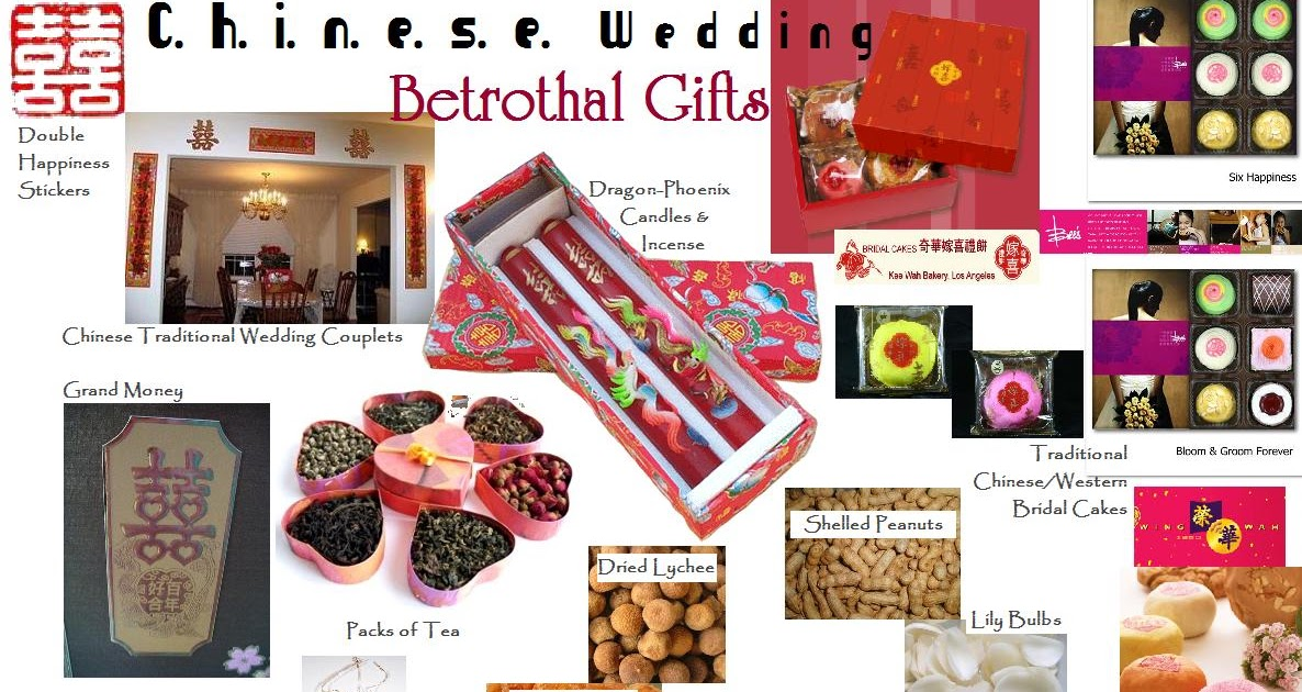 Chinese Wedding Gift Traditions: Yours Moment