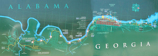 Map Columbus Riverwalk