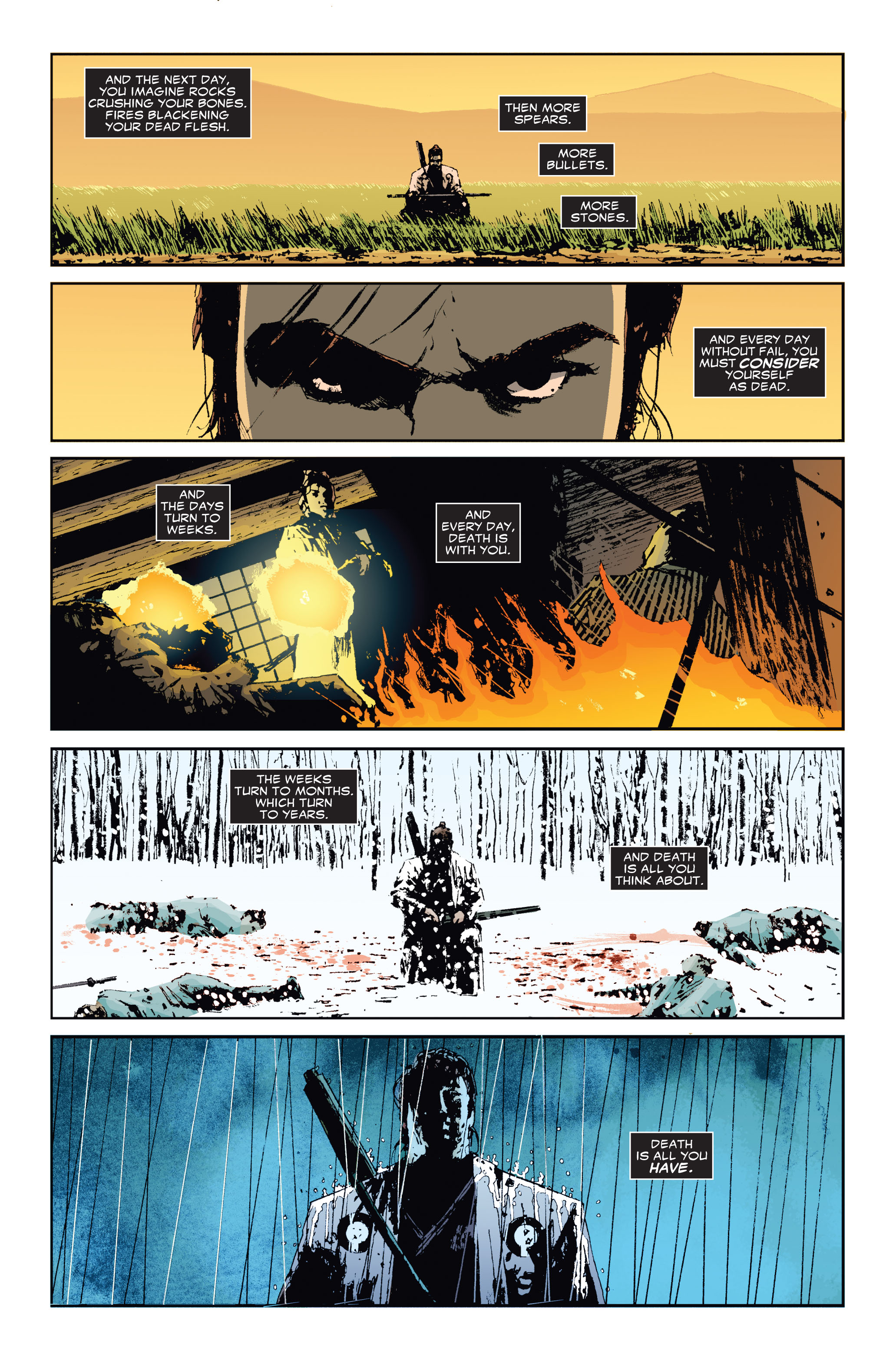 Read online 5 Ronin (2011) comic -  Issue #3 - 13