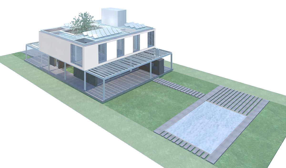 Habitar 3 premio casa sustentable 2010 - Proyectos para construir una casa ...