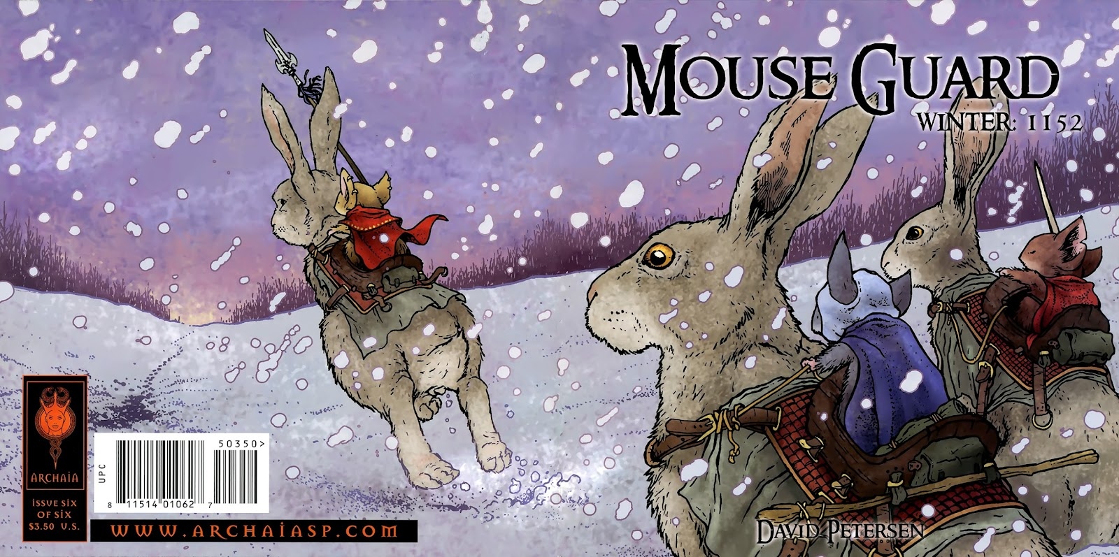 Mouse Guard: Winter 1152 issue 6 - Page 1