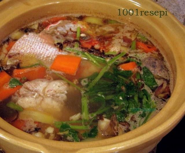 koleksi  resepi  ikan merah Resepi Sup Ikan Dowry Enak dan Mudah