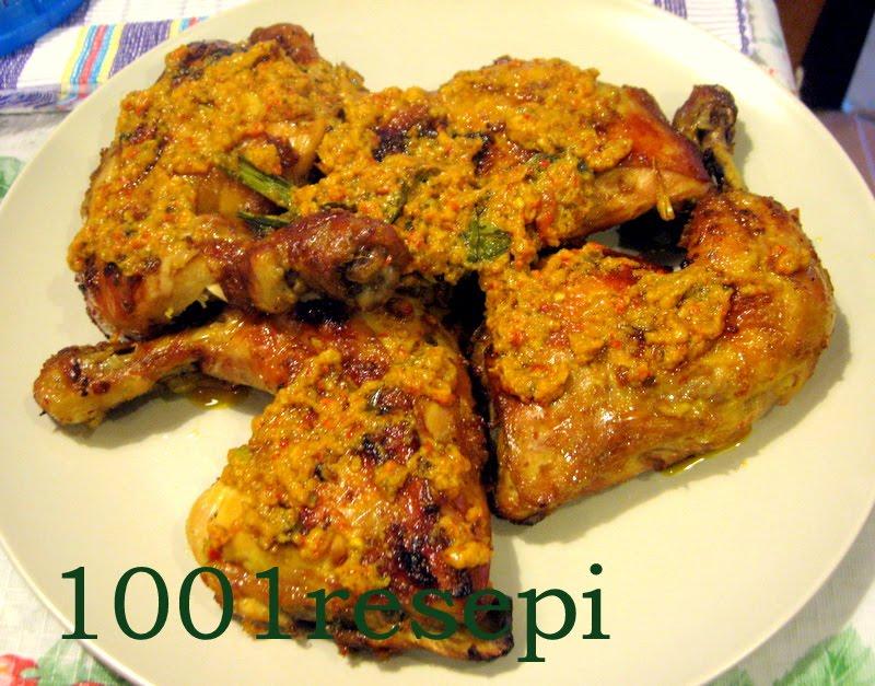 Koleksi 1001 Resepi: ayam panggang serba rasa