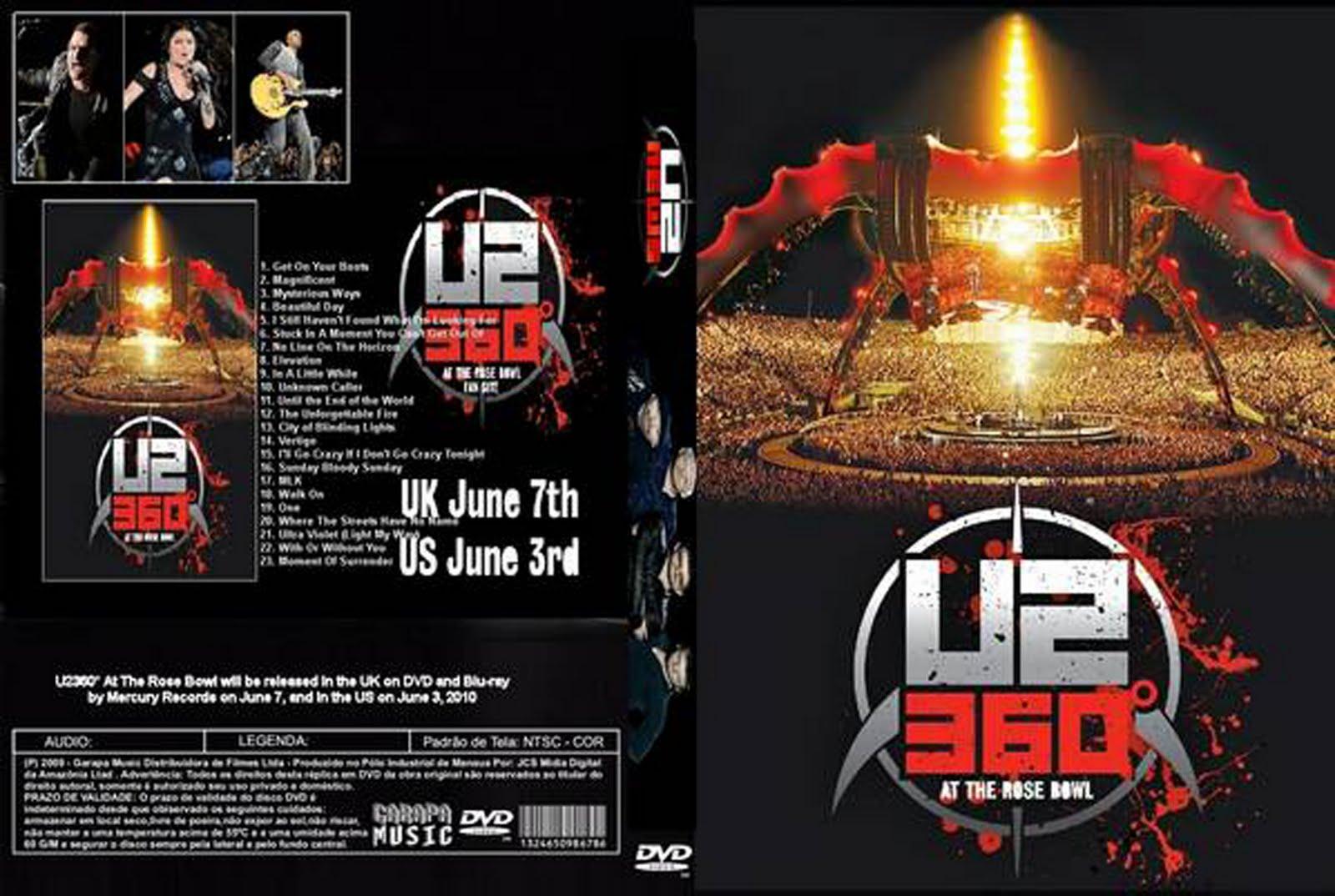 dvd 360 u2