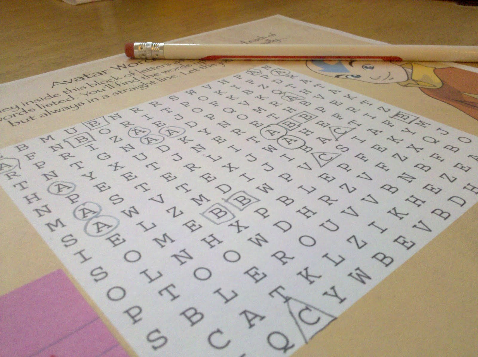 Be Brave Keep Going Turn A Word Search Into An Alphabet