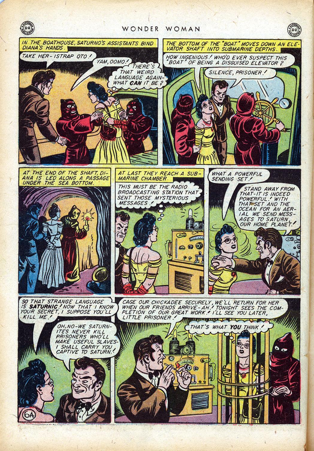 Read online Wonder Woman (1942) comic -  Issue #10 - 9