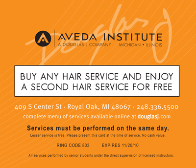 aveda coupon offers