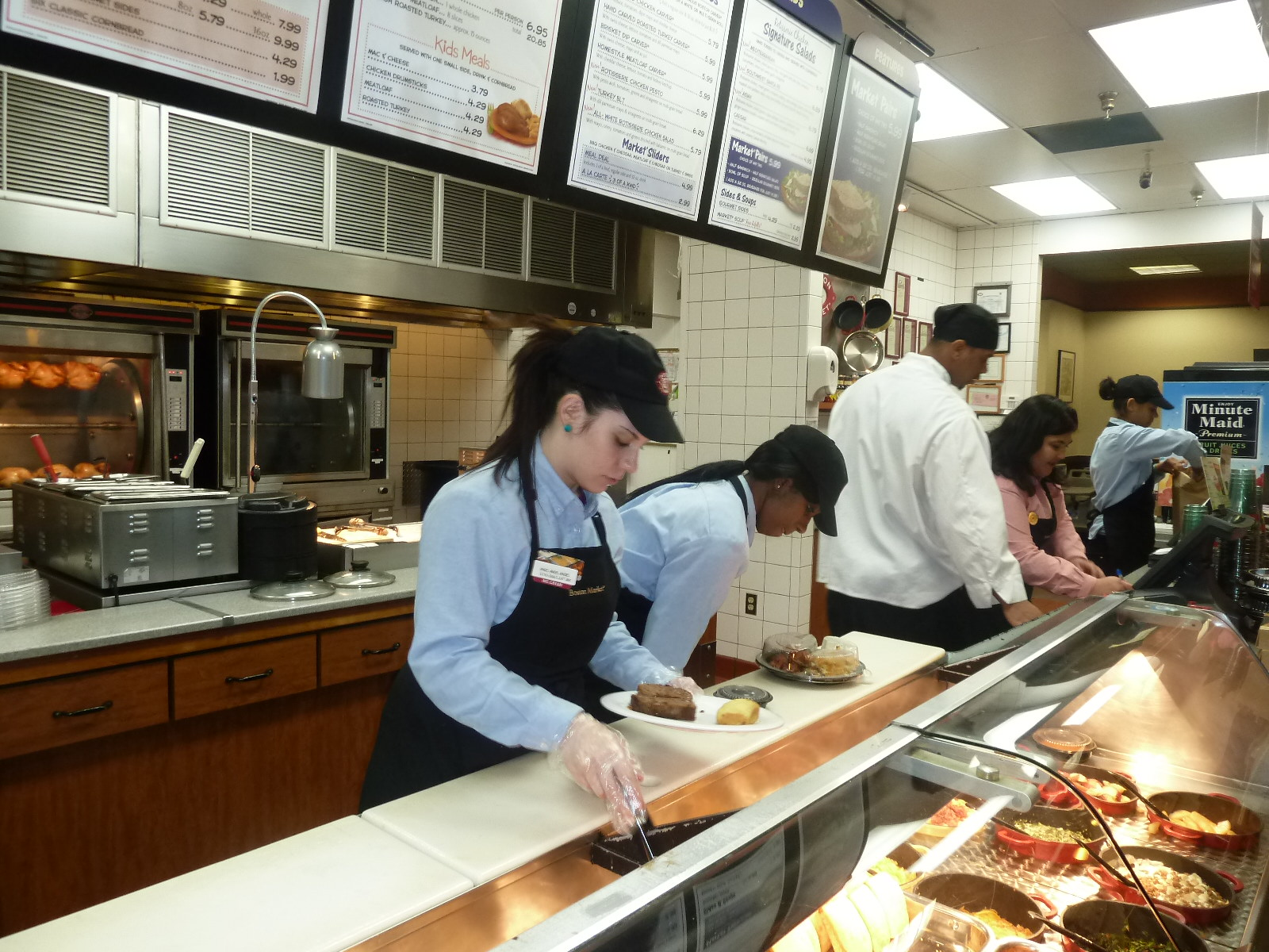 One Of The First Changes That I Noticed At Boston Market Was Way Staff Were Attired Everyone Looked Like They Had Just Walked Off