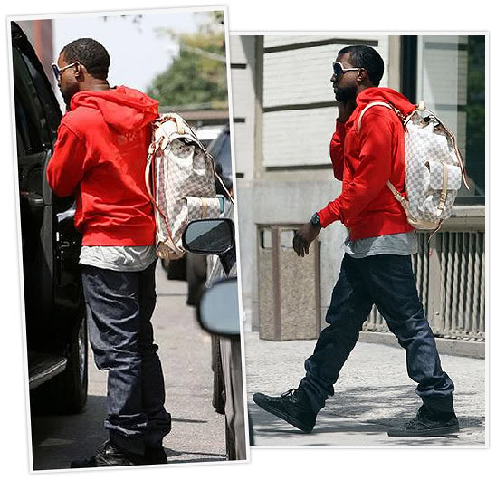 8a97ce336cf5 This pic is simply amazing! Hes rockin his own Louis Vuitton sneakers with  the special edition Louis Vuitton monogramouflage keepall