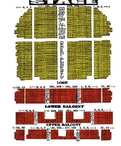 Just Stuff Tower Theater Philadelphia Seating Chart Nr 2 See 1 First