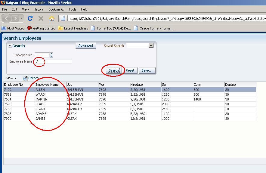 Zeeshan Baig's Blog: Creating Simple Search form in Oracle ADF