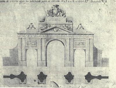 Historias matritenses puertas y portillos de madrid for Jardines de la puerta de atocha