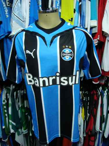 Brechó do Futebol. Bar   Camisetas.  Grêmio 2009 Camisa Titular De ... ff8be2f18ae73