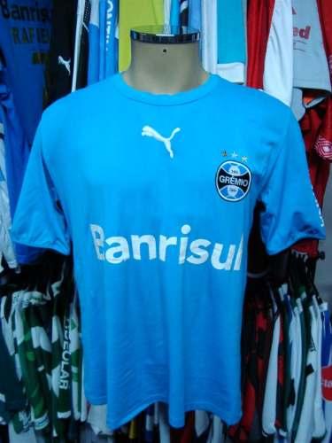 26a46bc937 Brechó do Futebol. Bar   Camisetas.  Grêmio 2006 Camisa Celeste ...