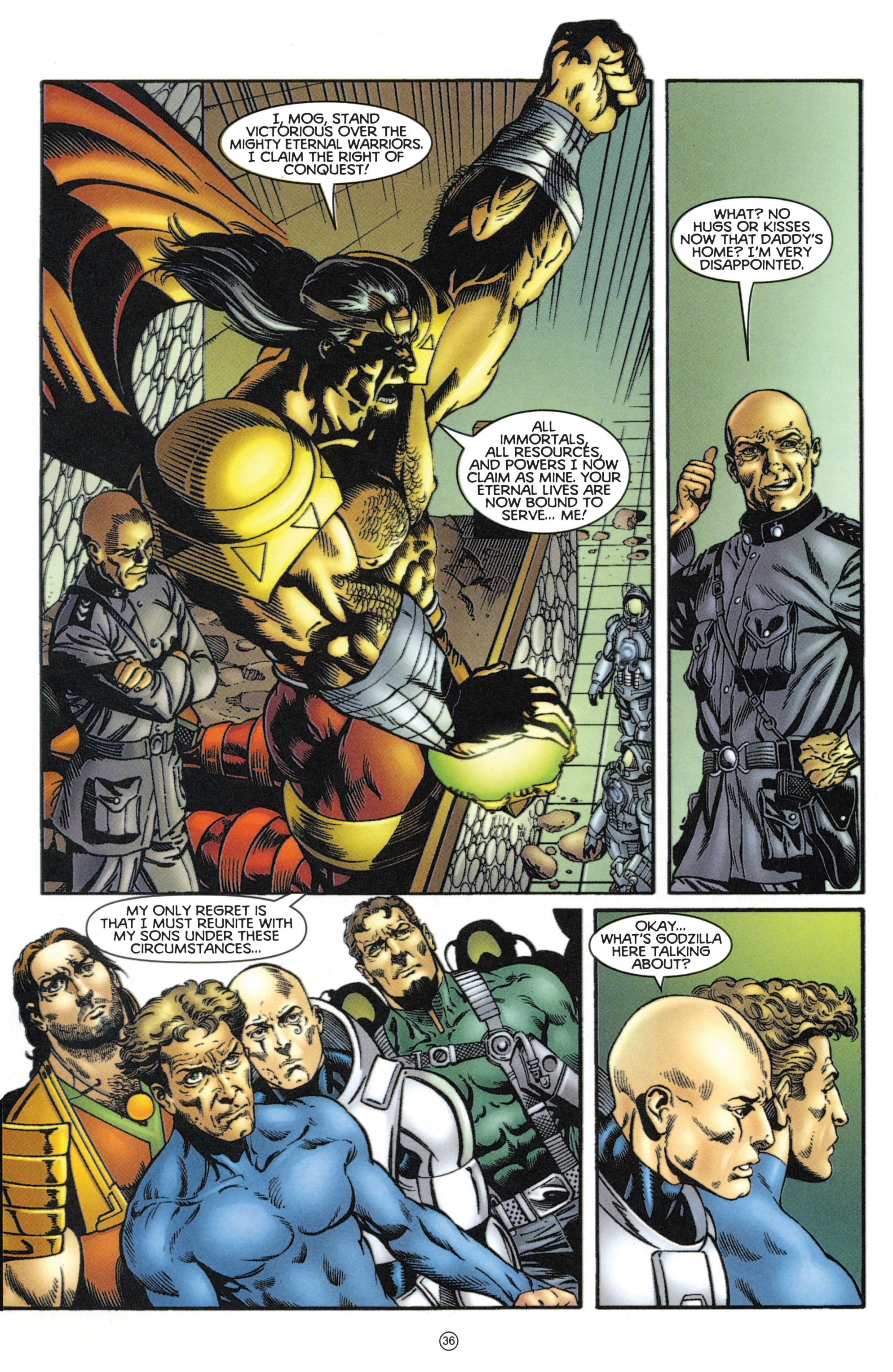 Read online Eternal Warriors comic -  Issue # Issue Mog - 31