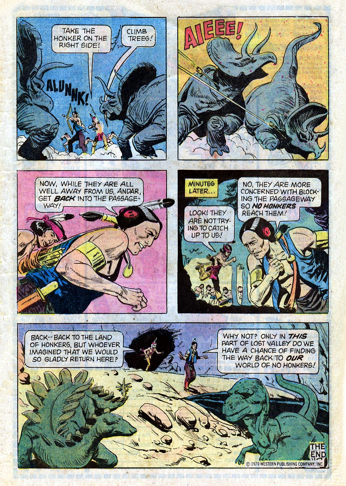 Read online Turok, Son of Stone comic -  Issue #124 - 33