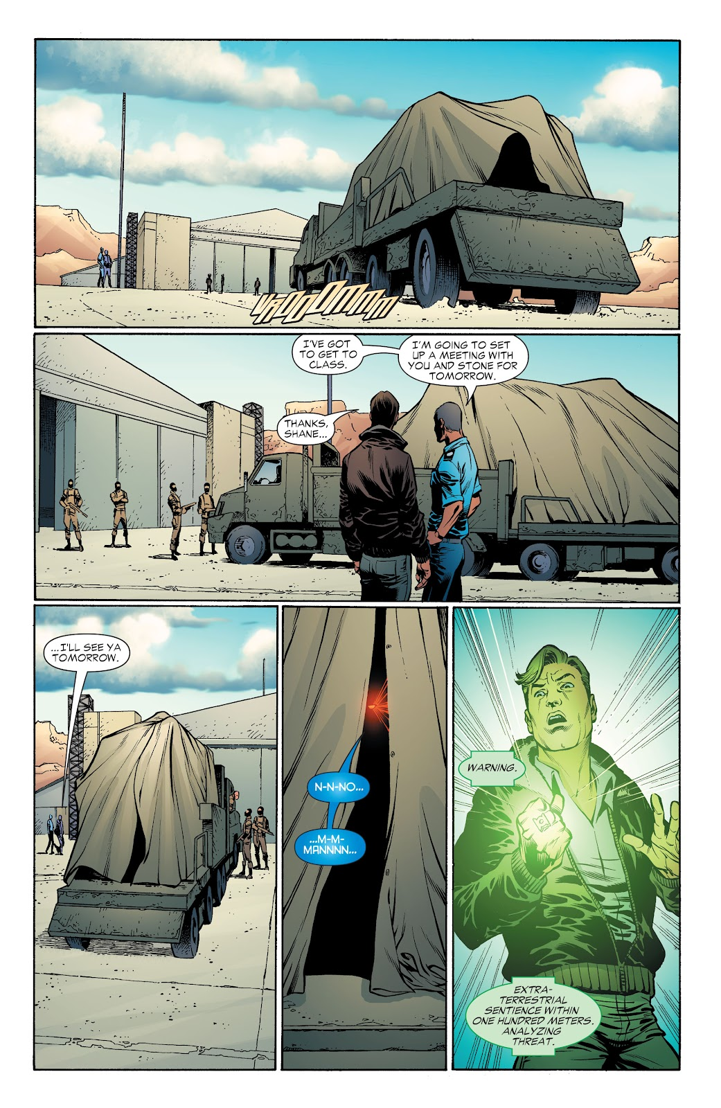 Read online Green Lantern by Geoff Johns comic -  Issue # TPB 1 (Part 4) - 36