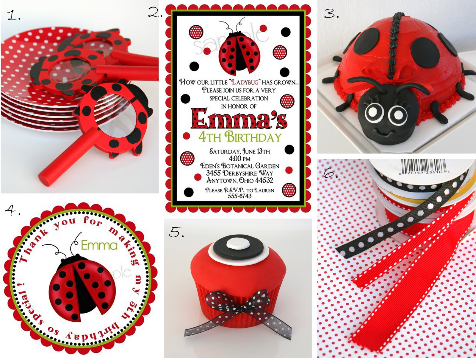 Ladybug Party Ideas And Inspirations