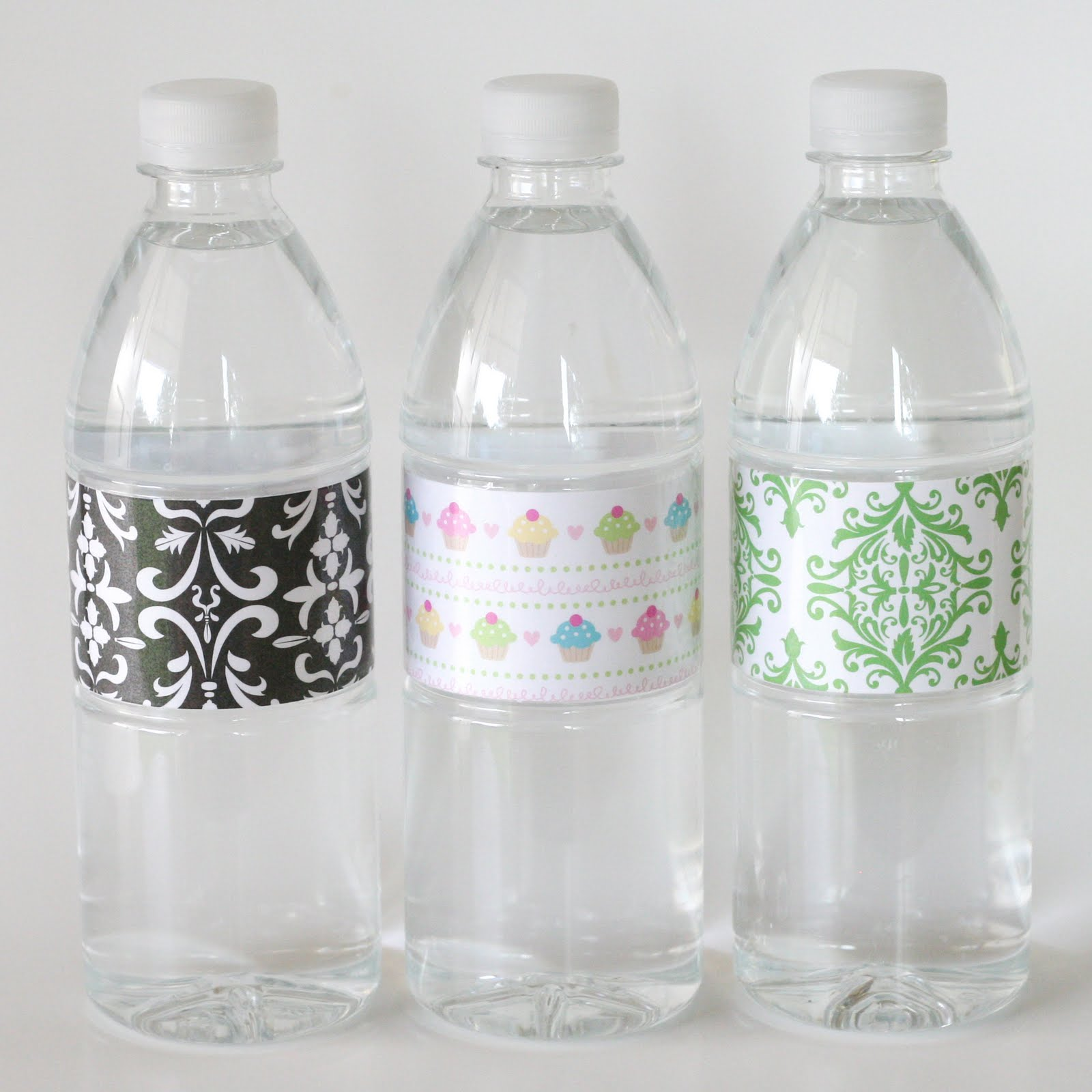 Decorate A Bottle: {How-to} Make Custom Water Bottle Labels