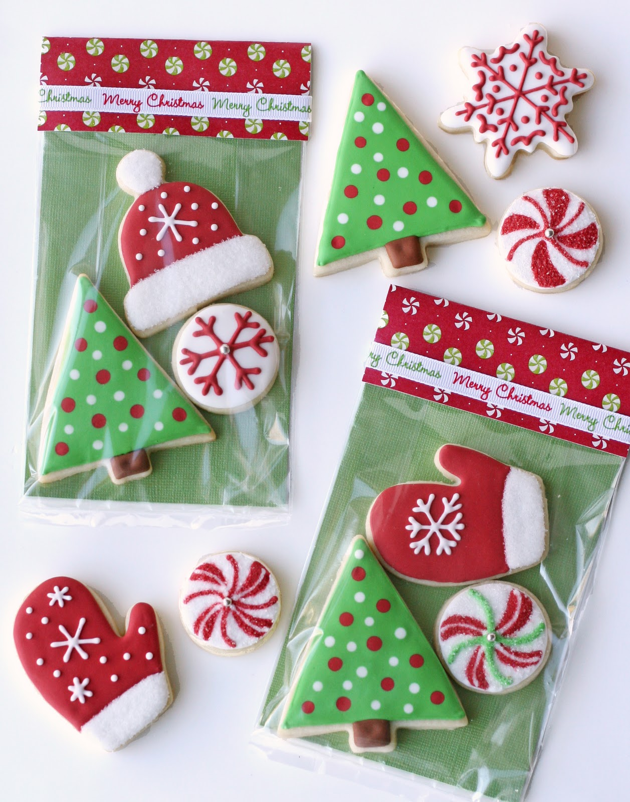 Christmas Cookies In A Bag