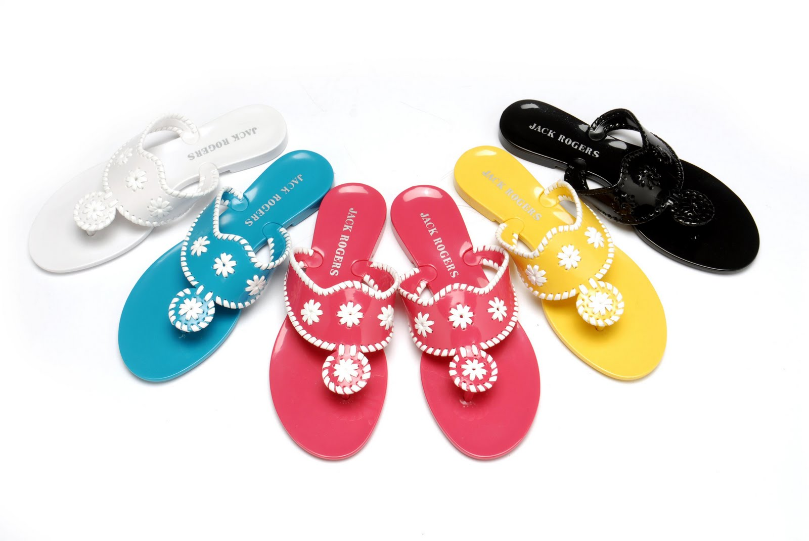 6e9ee7ae7a8b The Latest Obsession. Aren t these Jack Rogers Navajo Jellies ...