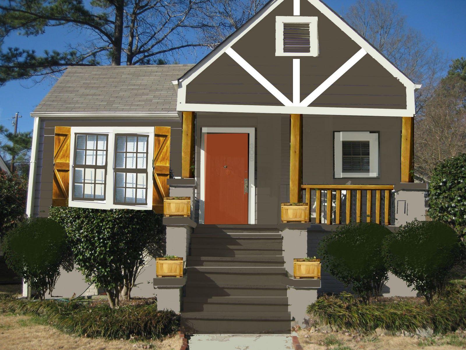 Exterior House Colors: A Walk Through: Exterior Gratification