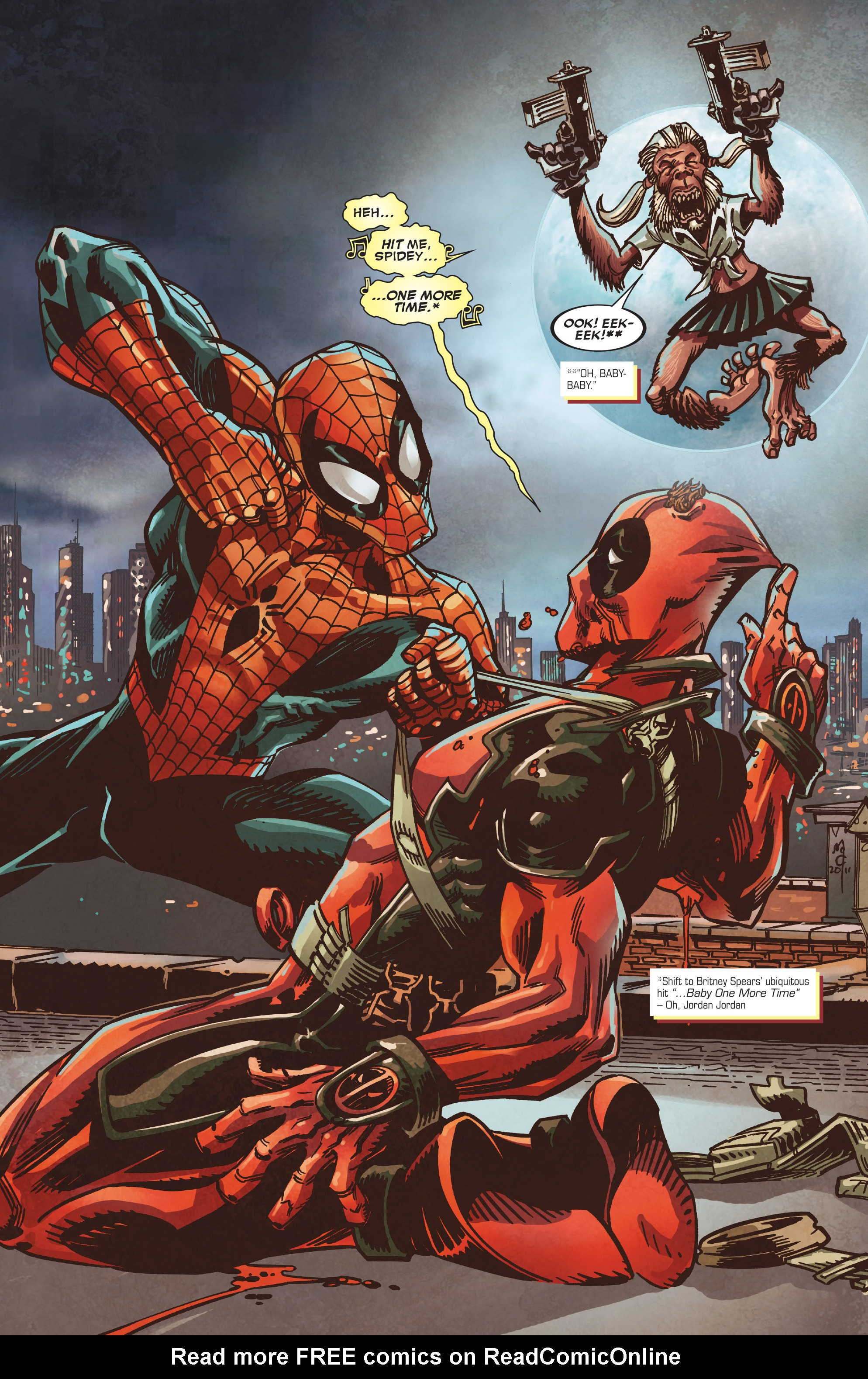 Read online True Believers: Deadpool the Musical comic -  Issue # Full - 14