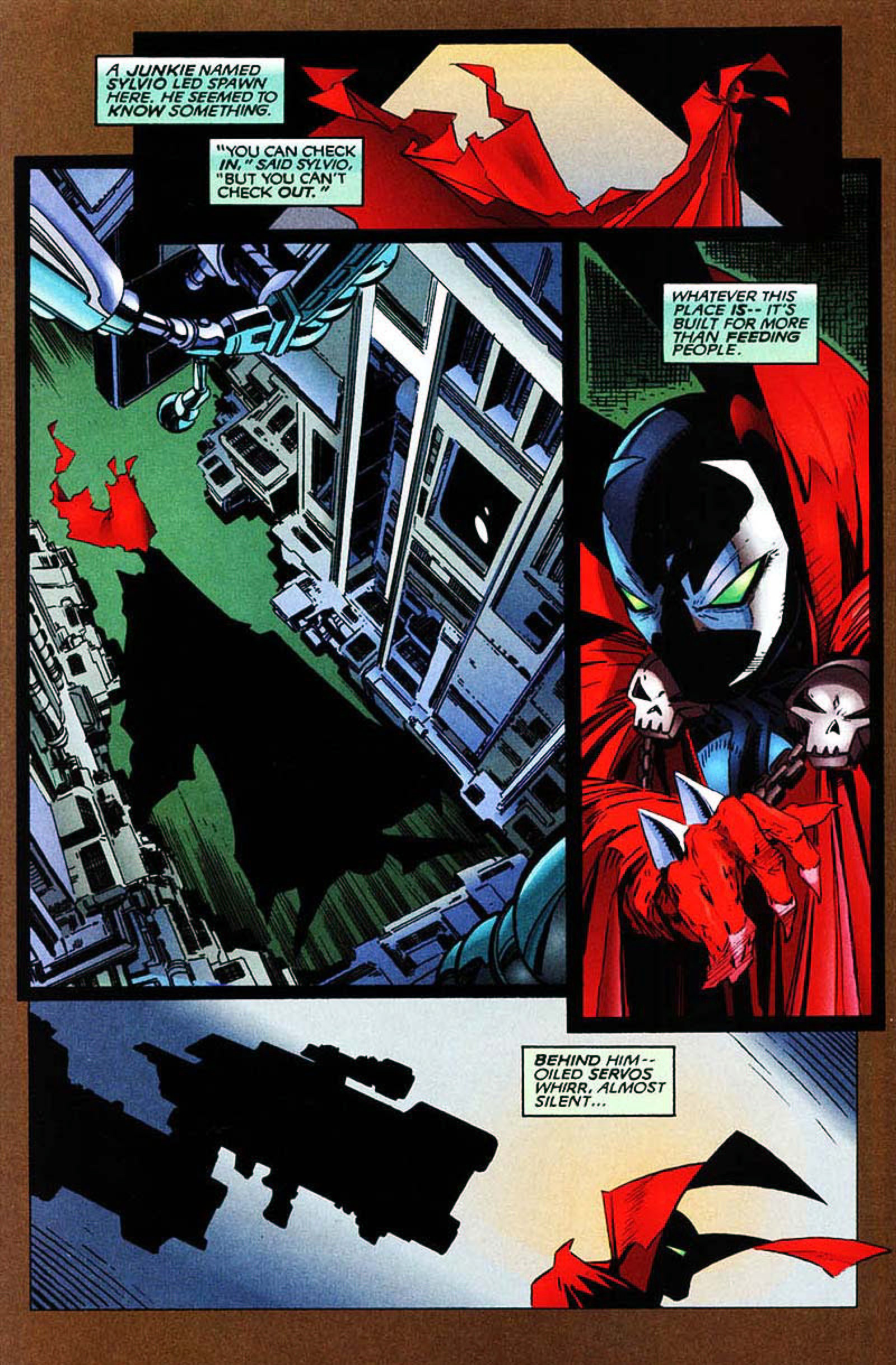 Read online Spawn-Batman comic -  Issue # Full - 24