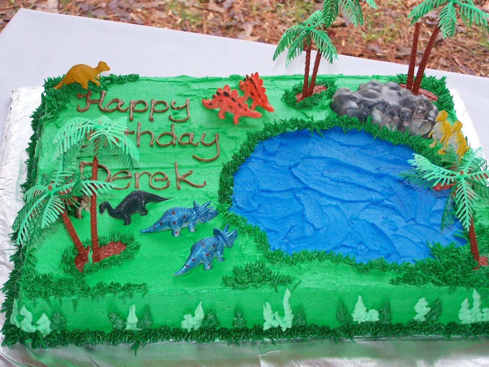 Creative Cakes N More Dinosaur Land