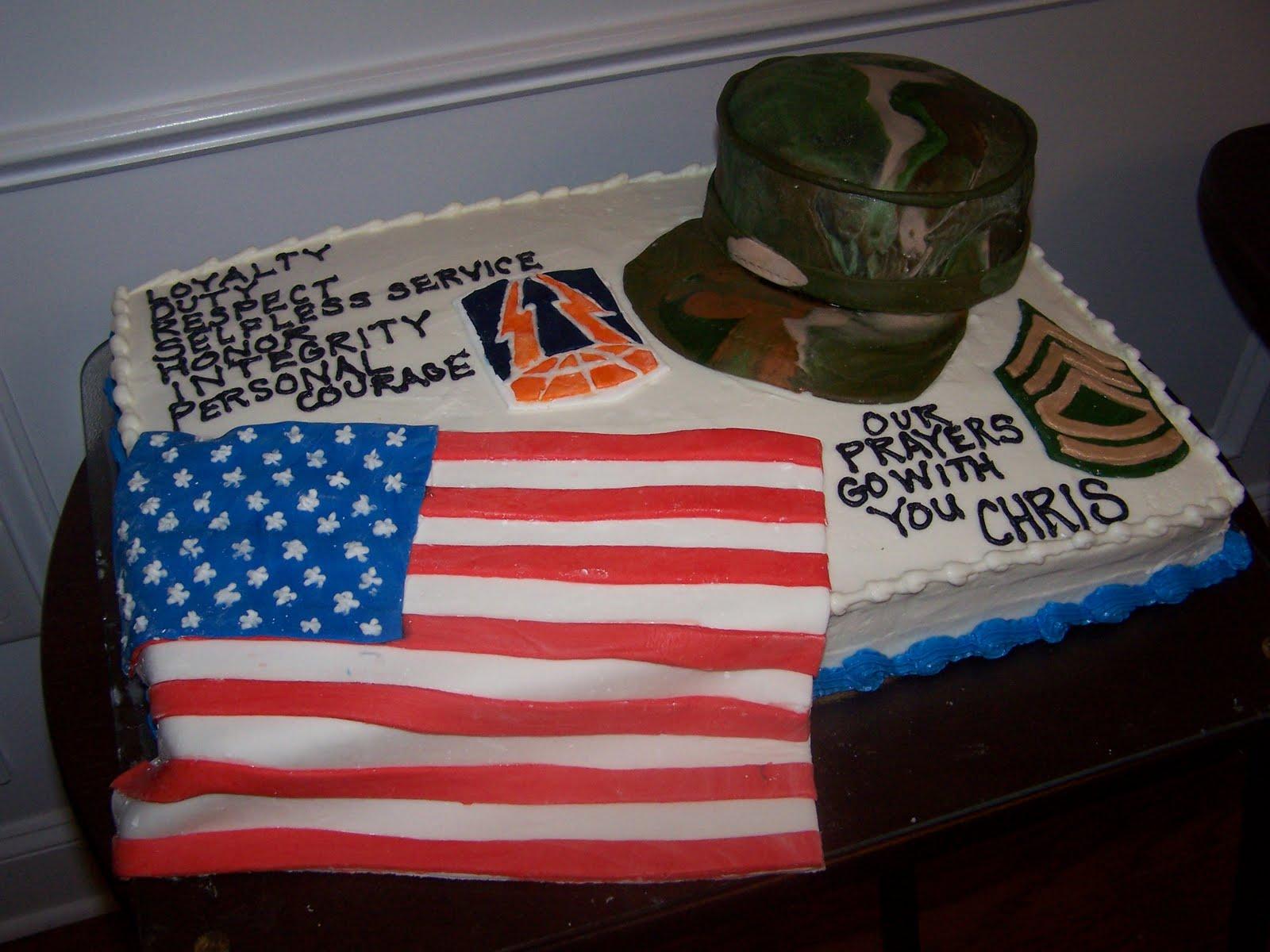 Creative Cakes N More Military Cake