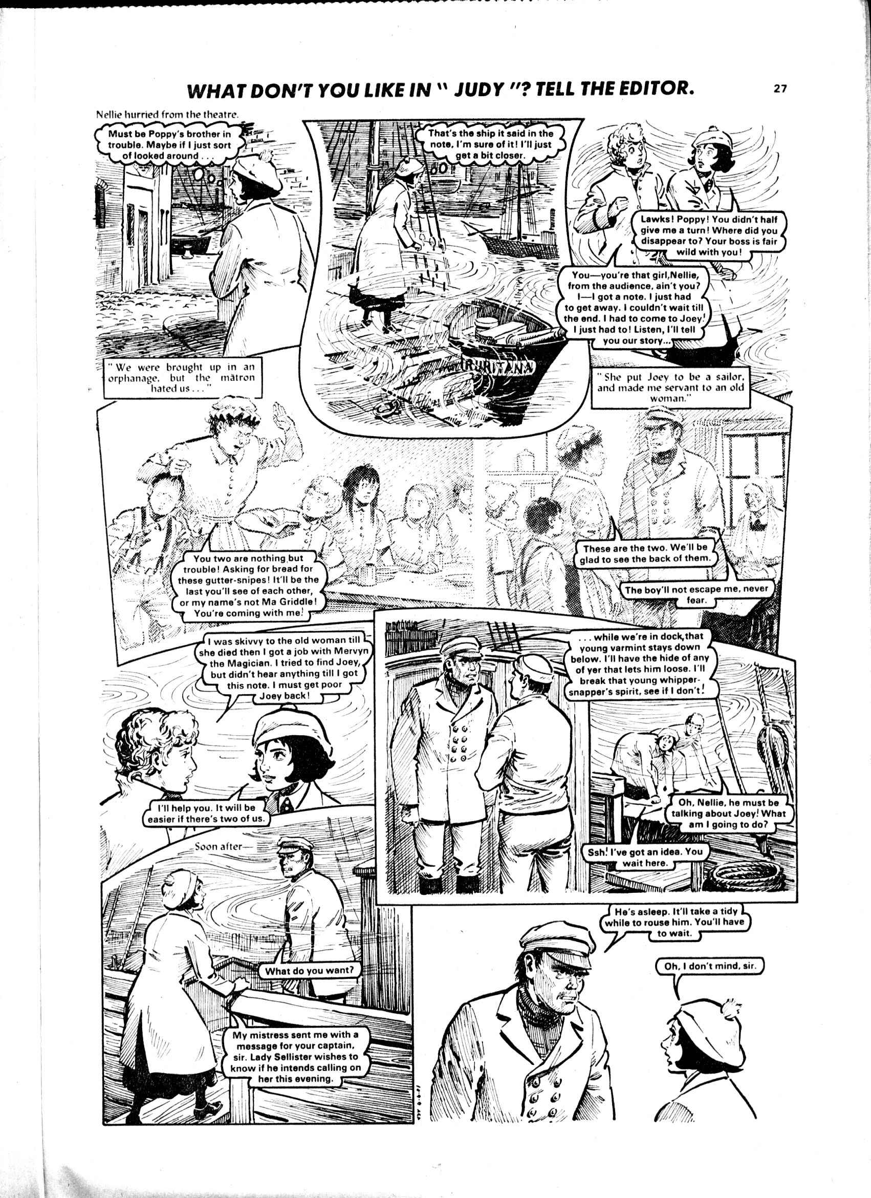 Read online Judy comic -  Issue #1108 - 27