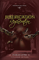>November Book Giveaway -3 Copies of Justification & Regeneration by Charles Leiter