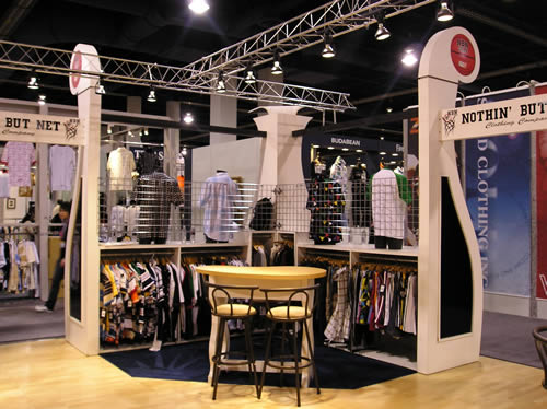fashion industry trade show exhibition booths