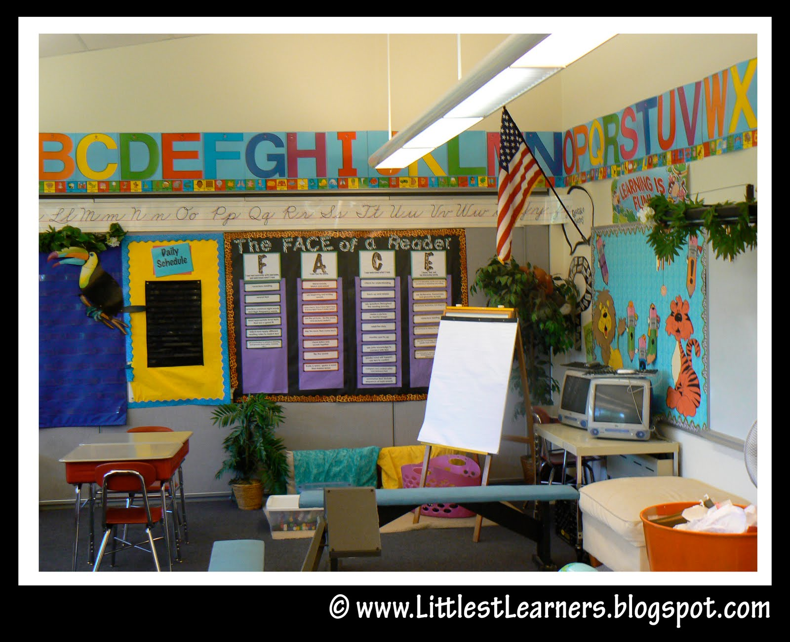 Jungle Safari Themed Classroom