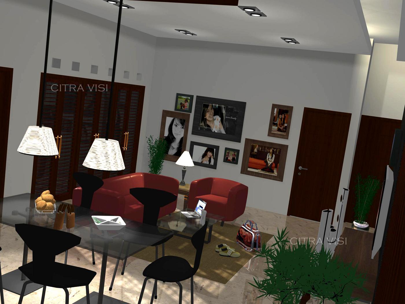 Interior Rumah Tinggal Pak Nafis  citravisi4threedee