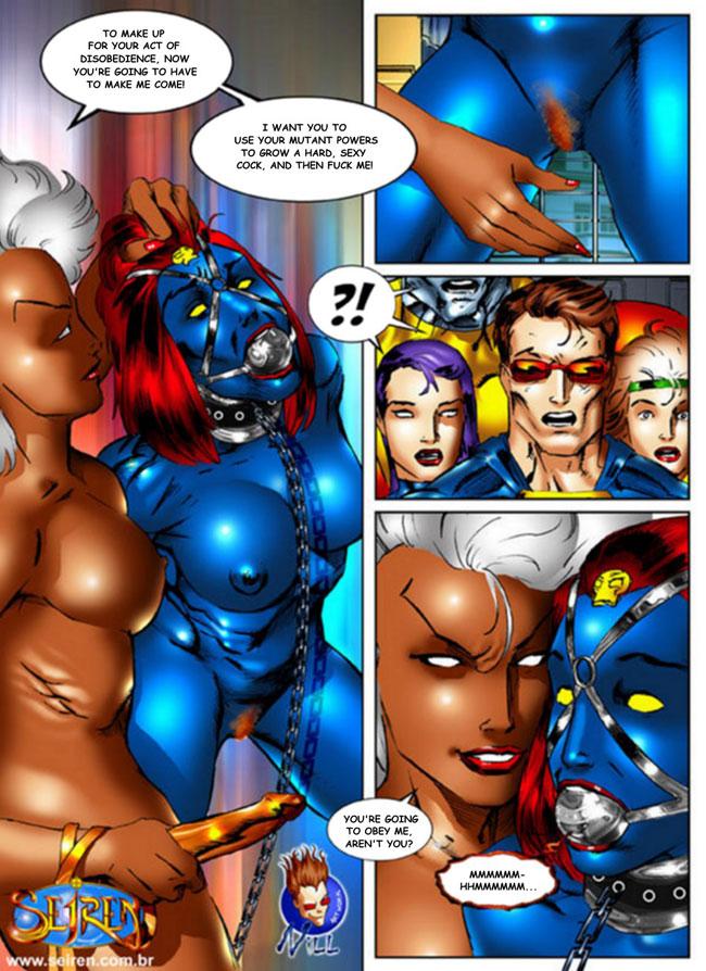 Xmen motion comic sex scenes
