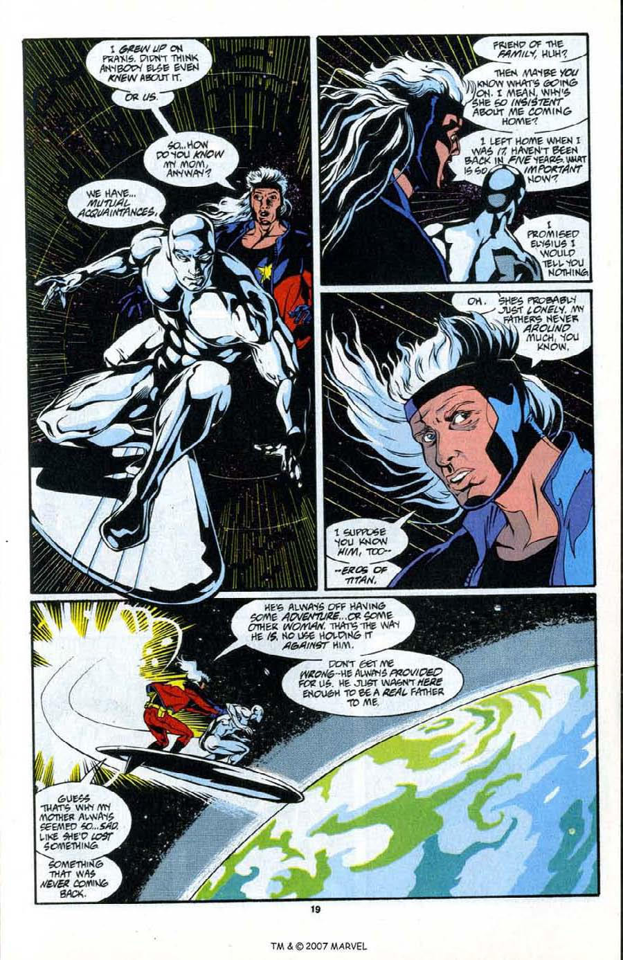 Read online Silver Surfer (1987) comic -  Issue # _Annual 6 - 21