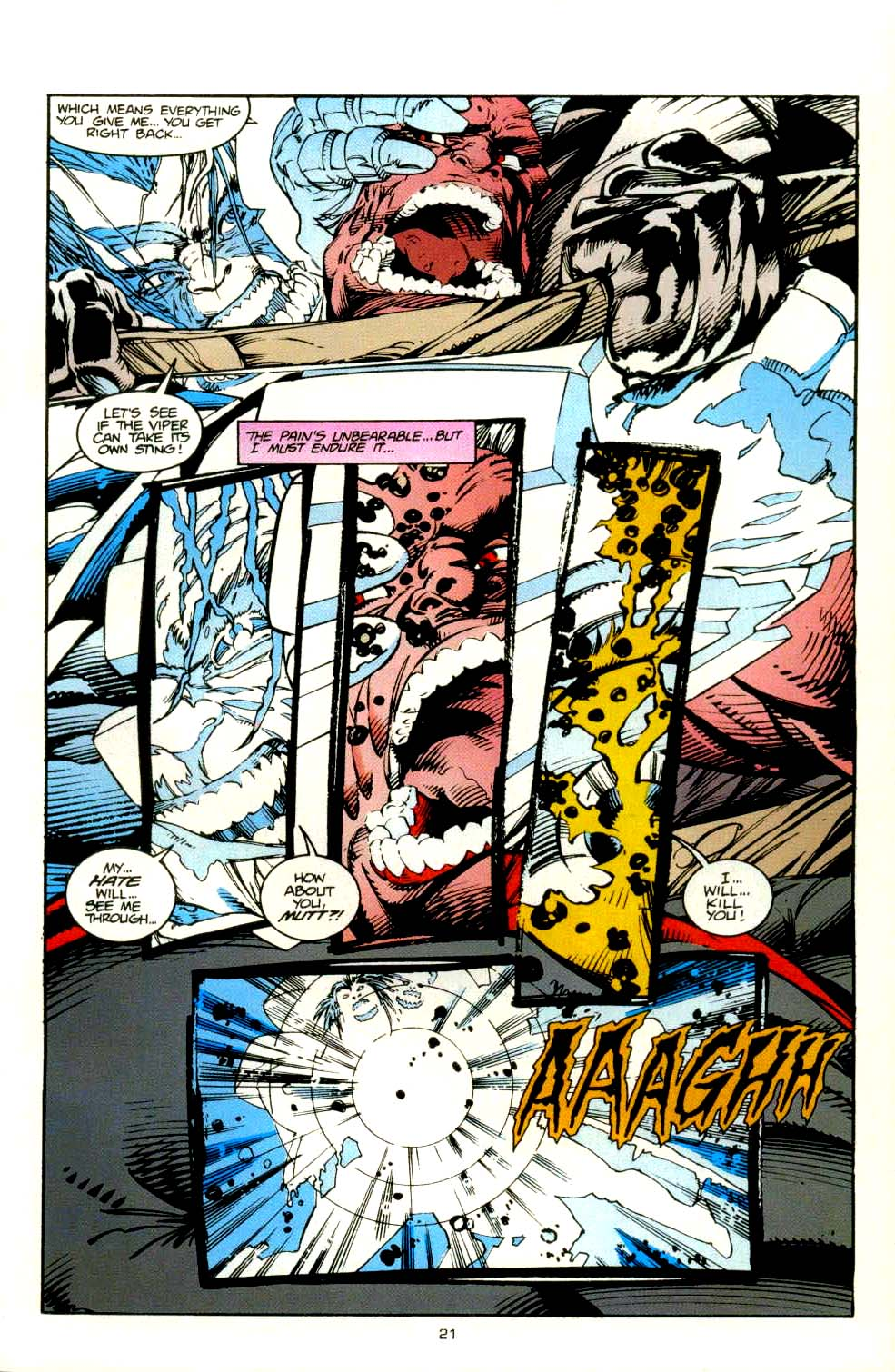 Read online 2099 Unlimited comic -  Issue #8 - 19