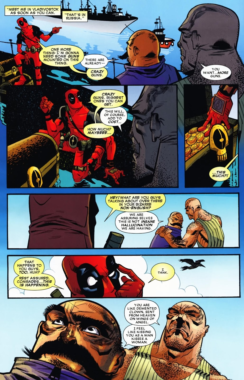 Read online Deadpool (2008) comic -  Issue #13 - 8