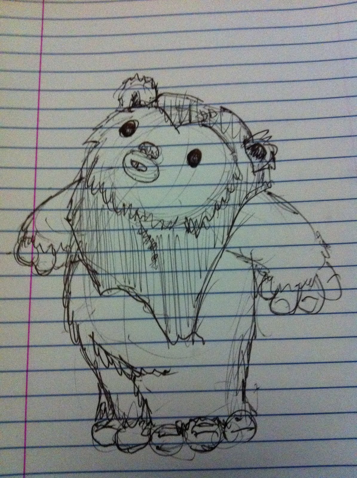 A Million Bad Drawings: Another Ewok? Bad Drawing #75