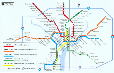 Gis Research And Map Collection Washington D C Metro Transit Maps