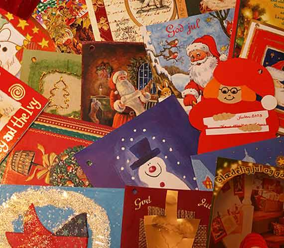 Treasure Seekers: Recycle Christmas Cards For Charity