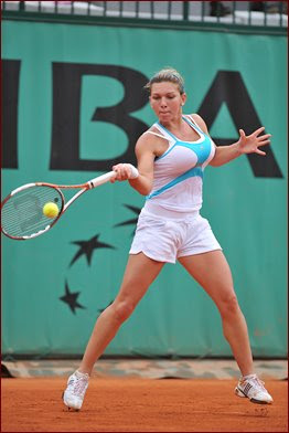 Laugh at the World: She's got a GREAT forehand. Simona Halep ...