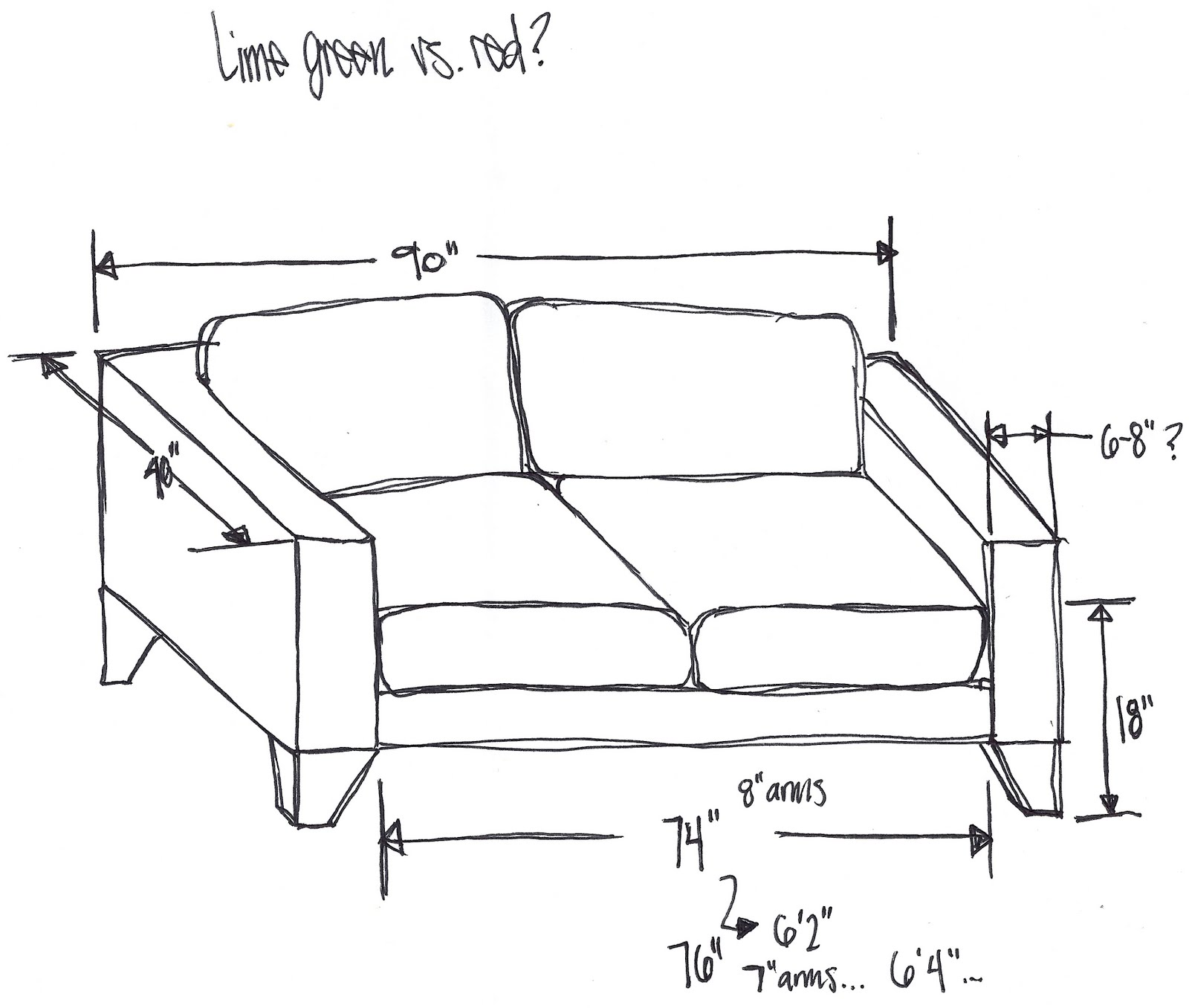 Dimensions Of A CouchAlenya Sofa Ashley Furniture Home