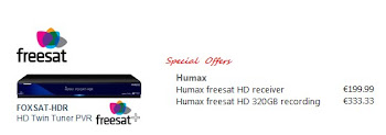 Humax Satellite receivers in Spain