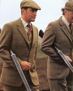 El Aristócrata: La chaqueta de Tweed; la chaqueta de sport