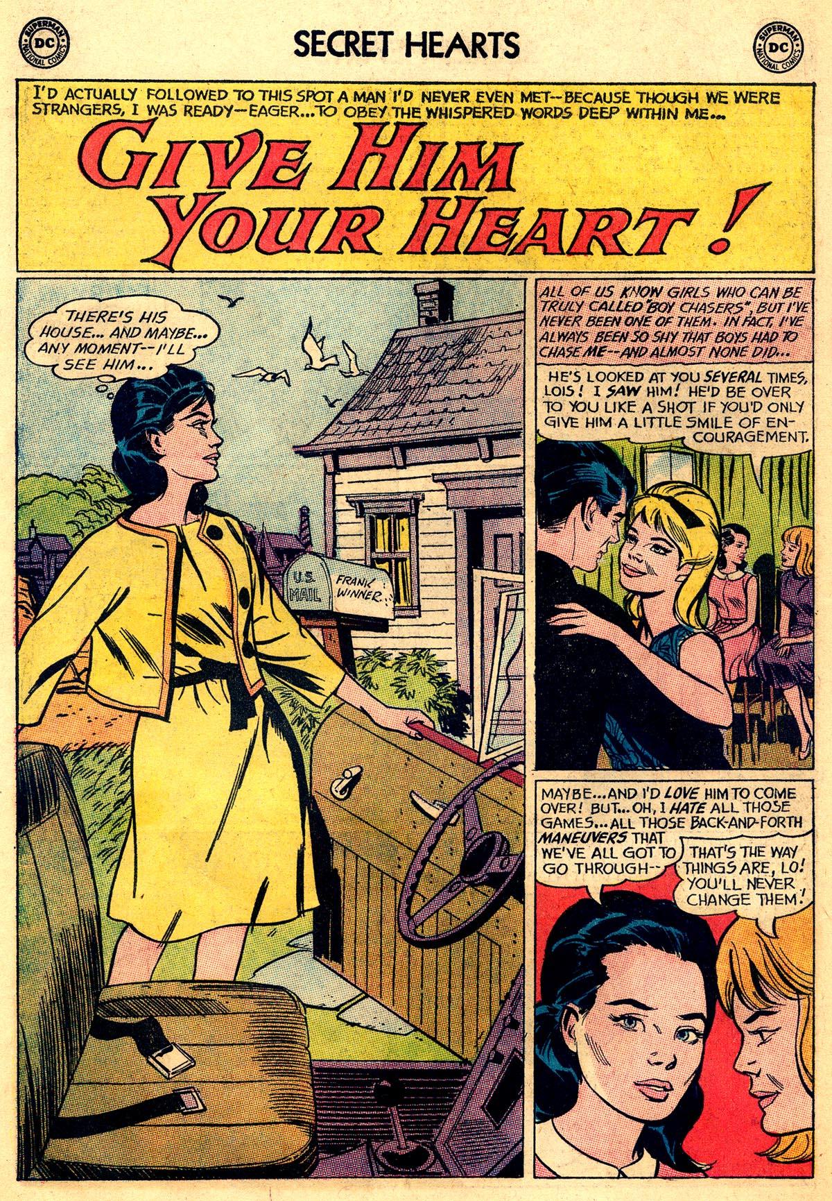 Read online Secret Hearts comic -  Issue #93 - 18