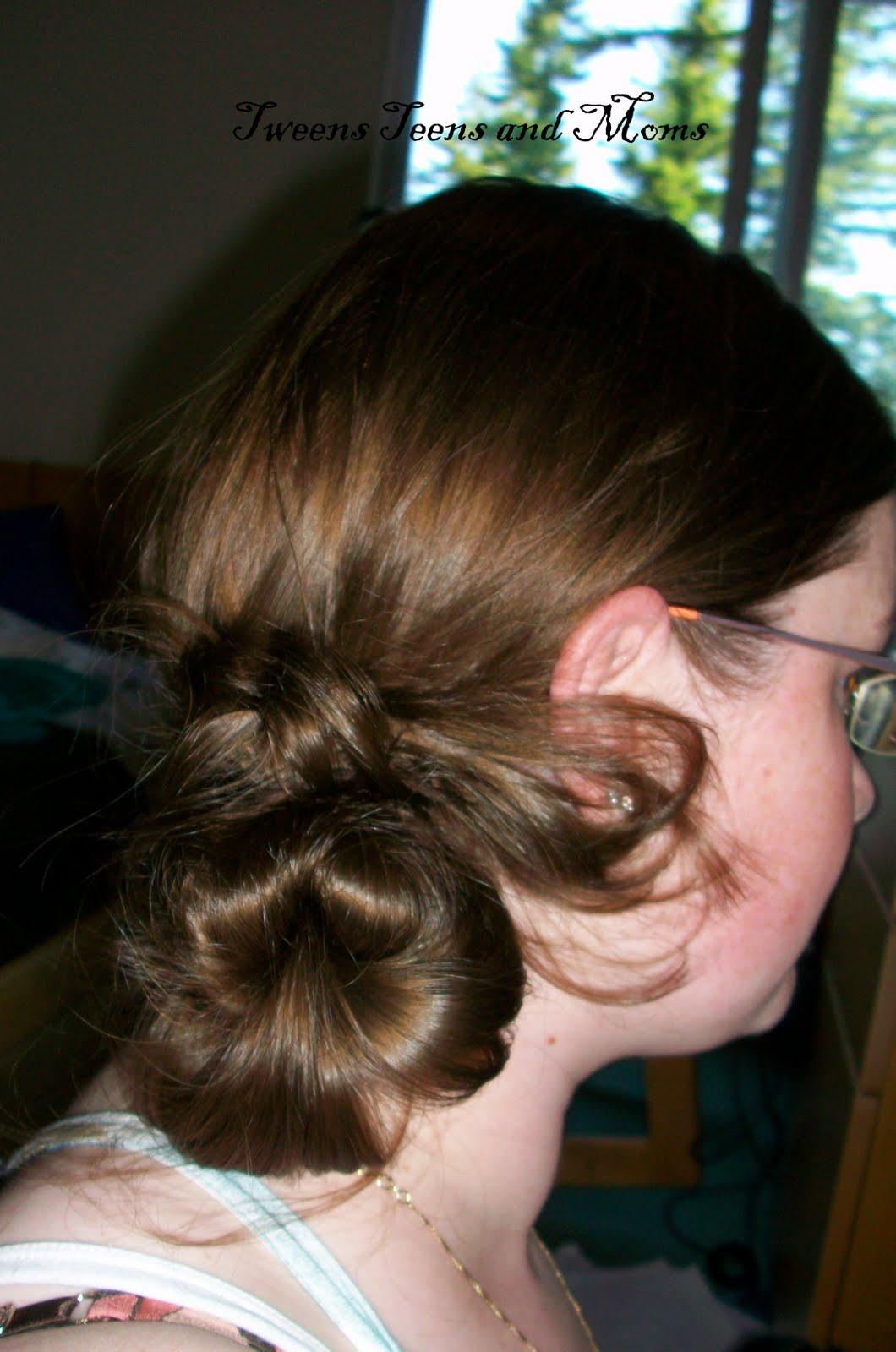 Tweens Teens And Mom Hairstyles For Older Girls Wrap